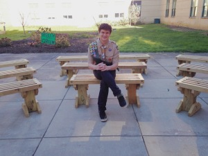 Rob and his outdoor classroom