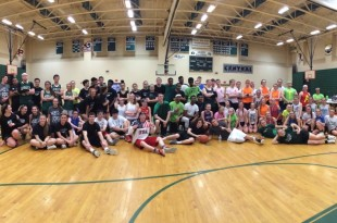Participants in this year's Hoops for Autism tournament (Courtesy of Ms. Pena)