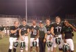 Coach David wood, John Sheldon, Jim McGarrigle, Pat McClintock, Brock Anderson,