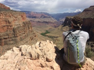 Bright Angel Trail, Grand Canyon, Arizona. Taken in March 2015.